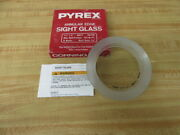 Pyrex 695610 Annular Edge Sight Glass Pack Of 10