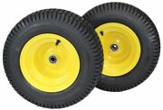 2 New 16x6.50-8 Atw Turf Tire And Wheel Fits John Deere 145 155c Lawn Tractor