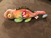 Iggy Beanie Baby Collectible 1997 Mint Condition P.e. Pellets