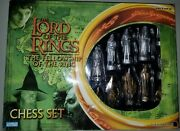 The Lord Of The Rings Chess Set The Fellowship Of The Ring - Ready To Enjoy