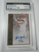 2018 Panini One Baker Mayfield Rookie Sign Autograph Bronze And039d 14/25 Gem Mt 10