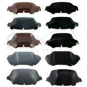 4.5 5 6and039and039 7 8and039and039 9 10 Wave Windshield Windscreen Fit For Harley Street Glide