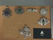 Vintage Mexico Sterling Silver Jewelry Lot 1 - Sold Individually On Req