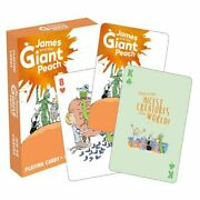 Aquarius Officially Licensed Roald Dahl James Designed Fun Playing Cards