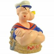 Popeye - Cartoon Painted Collectible Ceramic Coin Bank