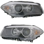 Halogen Headlight Driver And Passenger Side For 2011-2013 Bmw 528i 528i Xdrive