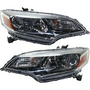 Headlight For 2018-2019 Honda Fit Driver And Passenger Side Pair