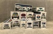 13 Hess Trucks In Original Boxes 1999 - 2011 - Willing To Sell Individuallyandnbsp
