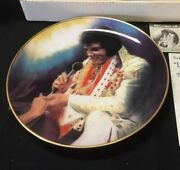 Elvis Remembered Loving You Plate Retired  Plate 2066a New Condition