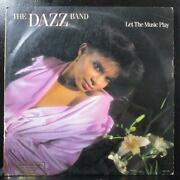 The Dazz Band - Let The Music Play Vg+ Promo Lp Motown M8-957m1 Usa 1981