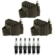 3 Gm Oe Ignition Coils And 6 Acdelco Spark Plugs Kit For Buick Olds Pontiac V6