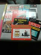 Mix Railroad Model Guides And Instruction Books Wiring Scenery Tracks And More