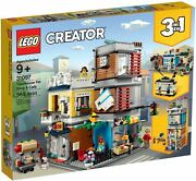 Lego 31097 Creator 3-in-1 Townhouse Pet Shop And Café Free Shipping