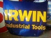 Nascar Race Used Hood Authentic Sheetmetal Full Size. Irwin Industrial Tools.