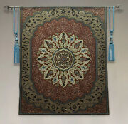 Upscale Belgian Tapestry Bohemian Wall Tapes Luxury Yoga Club Mural Provence