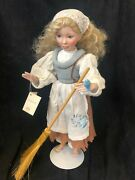 """""""cinderella"""" Limited Edition Porcelain Doll By Edwin M. Knowles China Company"""