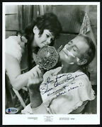 Sue Ane Langdon Autographed Signed 8x10 Photo Actress Beckett Bas H44336