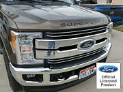 2019 Ford Super Duty Hood Inserts Letters Vinyl Decals Stickers F250 F350 F450