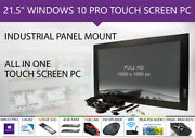 Panel Mount Win10 Pro 21.5 Inch Capacitive Touch Screen Pc With Kiosk Mode