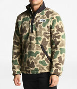 New Mens The Pullover Campshire Sherpa Fleece Jacket Coat Top