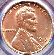 1919-d 1c - Lincoln Wheat Cent Penny++