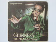 Beer Coaster Guinness St Patrick's Day March 17th St Who's Day Sing Karaoke