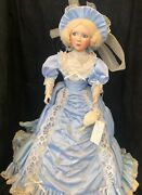 """""""the Southern Belle"""" Limited Edition Porcelain Doll By Edwin M. Knowles China"""
