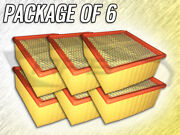 Air Filter Af6314ng For Dodge Ram 2500 3500 6.7l -case Of 6 -replaces 53034051ab