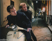 Armie Hammer Henry Cavill Man From Uncle Autographed Signed 8x10 Photo Coa