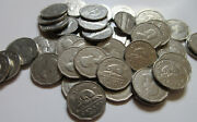 Roll Of 1957 Canada Five Cents 40 Coins Rj999