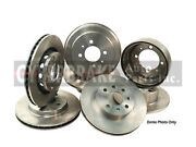 55025 Front Brake Rotor Pair Of 2 Fits 92-96 Chevrolet G30