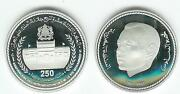 Morocco Maroc Silver Proof 250 D. 2012 13th Ann. Of The Enthronement