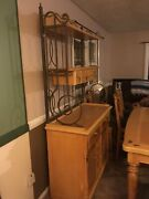 Furniture Used Table Chair Hutch