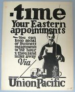 1920and039s Union Pacific Railroad Poster