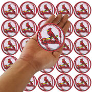 Wholesale St. Louis Cardinals Bird Baseball Logo Sew Embroidered Iron On Patch