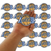 Wholesale Los Angeles Lakers La Basketball Logo Sew Embroidered Iron On Patch