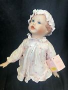 """""""emily"""" Limited Edition Porcelain Doll By Edwin M. Knowles China Company, New"""