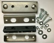 1937-46 Chevy Gmc Truck 6 Cyl Motor Engine Mount Front Kit W/ Metal Bolts Rubber