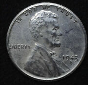 1c One Cent Penny 1943 S Lincoln Steel Wheat Penny Scarce Error Look @ Pictures