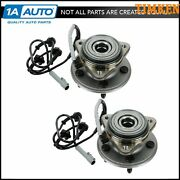 Timken Front Wheel Hub And Bearing Pair Set For Ford 4x4 4wd