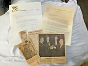Vintage Lot Hayward Ca Police Department Dedective Babe Lions City Manager 1966