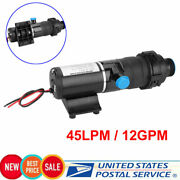 12v Quick Release Rv Mount Macerator Waste Water Pump 45 Lpm 12gpm