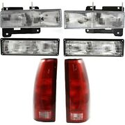 New Auto Light Kit Driver And Passenger Side For Chevy Suburban Lh Rh C1500 K1500