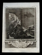 Holy Card Engraving S.iacobus 18th.