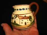 Vintage Watcombe Torquay Motto Cottage Ware Cream Jug Help Yourself Dont Be Shy
