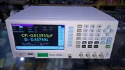 1mhz High Precision / Resolution Bench / Benchtop Lcr/lcz/rcl Meter,d,q Factor
