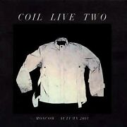 Coil Live Two Cd Uk Import New Sealed Psychic Tv Nurse With Wound