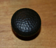 Cabinet Round Knobs-oil Rubbed Hammered Bronze Finish Lot Of 10