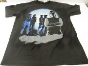 Vtg Rare 80s Lou Reed 1989 New York Tour Band T Shirt Tag Spring Ford Classic M