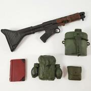 1/6 Scale Military Accessory Lot Pouch Rifle Mess Kit Book 21st Century Toys